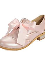 Da donna-scarpe da ginnastica-Tempo libero / Formale / Casual / Sportivo-Comoda-Quadrato-Finta pelle-Nero / Rosa / Beige