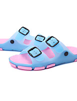 Girl's Sandals Spring / Summer / Fall Comfort / Jelly Silicone Casual Flat Heel Others Blue / Brown / Red Walking
