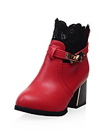 Women's Shoes  Heels / Fashion Boots Boots Outdoor / Office & Career / Casual Chunky Heel OthersBlack /  &66-3