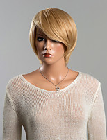 New Fashion Meticulously-designed Soft Short Layered Straight Human Hair Wig