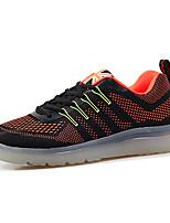 Zapatos de Hombre-Bailarinas-Exterior / Casual / Deporte-Tul-Negro / Azul / Gris