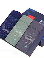 New Fashion Men's Cotton Underwear Health 3 Colour(3 Pcs/Box)