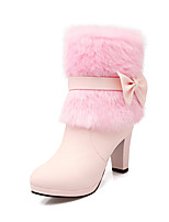 Women's Shoes  Heels / Fashion Boots Boots Outdoor / Office & Career / Casual Chunky Heel OthersPink /  &A-105