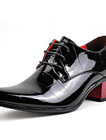 Men's Oxfords Spring Summer Fall Winter Formal Shoes Patent Leather Outdoor Office & Career Party & Evening Casual Black