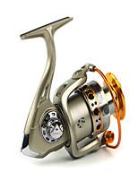 Molinetes Rotativos 5.5/1 12 Rolamentos Trocável Isco de Arremesso / Pesca Geral-LC2000 Yumoshi