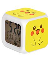 Poke Ball Colorful Flash Cartoon Alarm Clock-26#
