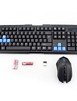 Senza filo USB Tasiera e mouseForWindows 2000/XP/Vista/7/Mac OS