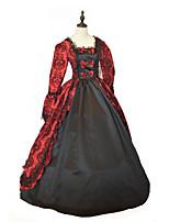 Costumes Déguisements de princesse / Déguisements thème film & TV Halloween / Noël / Carnaval / Nouvel an Rouge & noir Couleur Pleine