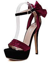 Women's Shoes  Heel Height Sexy Peep Toe Stiletto Heel Sandals Party Shoes