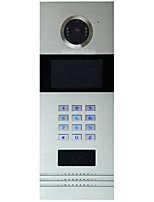 TCPIP Network Intercom 7 Inch Digital Intercom Doorbell Rj45 Support POE Home Furnishing Intelligent Buildings