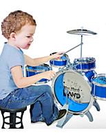 Children's educational simulation foot drums
