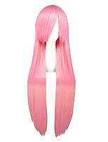 Kuroko No Basketball-Momoi Satsuki Pink Straight 40inch Anime Cosplay Wigs CS-035X
