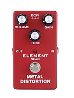 Guitar Effects Distortion Simulation Bass High pitch Musical Instruments Fitting Aluminum
