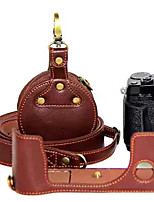 Fujifilm Camera X-pro2 Leather Protective Half Case/Bag