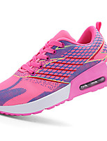 Women's Shoes Tulle Flat Heel Comfort Fashion Sneakers Athletic Green / Fuchsia / Orange