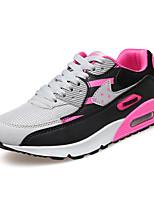 Da donna-Sneakers / Zoccoli e ciabatte-Casual-Modelli / Punta arrotondata-Piatto-Tulle / PU (Poliuretano)-Blu / Viola / Grigio /