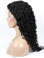 130% Density Kinky Curly Natural Color Unprocessed Brazilian Human Hair Wigs For American Black Women