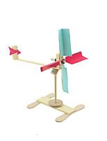 Speeltjes voor Jongens Discovery Toys Novelty Toy / puzzel Toy / educatief speelgoed / Wetenschap & Ontdekkingspeelgoed Windmolen Hout
