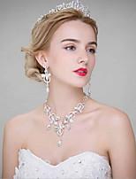 Dame Legering Medaljon-Bryllup Diademer 3 Dele