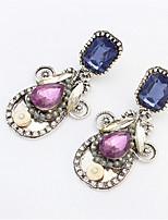Pendentif d'oreille Boucle Perle / Alliage / Acrylique Sans pierre Femme