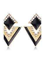 Summer Amorous Nightclubs Punk Triangle Earrings