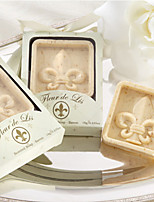 Paris Love Fleur-de-Lis Soap Wedding Gifts, Baby Shower Favors