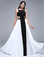TS Couture® Formal Evening Dress A-line Square Floor-length Chiffon with