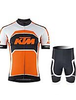 KEIYUEM Ciclismo Sets de Prendas/Trajes Unisex BicicletaImpermeable / Transpirable / Secado rápido / Resistente a la lluvia / Cremallera