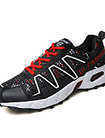 Men's Shoes Casual Fabric Fashion Sneakers Running Shoes Black /Orange/Blue