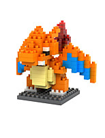 Pocket Little Monster Charizard ABS Super Mini 120 Pieces Diamond Blocks