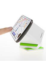 cube magique échafaudage mobile de tourner sur 360 degrés pu adsorption antidérapage voiture navigation blanche