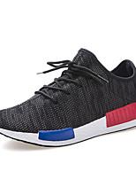 Da uomo-Sneakers-Tempo libero / Casual / Sportivo-Comoda-Piatto-Tulle-Nero / Blu / Verde