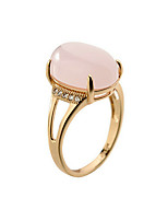 Ring Fashion Party / Daily / Casual Jewelry Alloy / Opal Women Band Rings 1pc,6 / 7 / 8 / 9 Gold