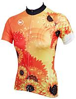 KEIYUEM Ciclismo Tops Mujer / Unisex BicicletaImpermeable / Transpirable / Secado rápido / Resistente a la lluvia / Cremallera