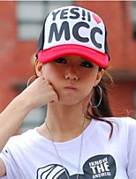 Unisex Spring Letters Printed Hip-hop Style Men And Women Mesh Hat
