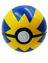 bolsillo pequeño monstruo de plástico de bolas empuje rápido de las PC 1