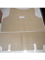 Flax Car Mats Light Flexibility Durability Wear Waterproof Environmental Protection