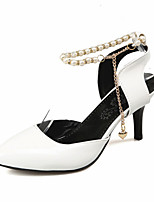 Women's Shoes Leatherette Spring / Summer / Fall Heels Heels Wedding / Party & Evening / Dress / Casual Stiletto Heel I