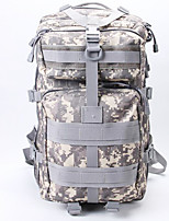 50 L Hiking & Backpacking Pack / Backpack Camping & Hiking Outdoor Multifunctional Army Green Nylon Other