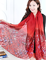 Korean Version New Cotton Long Printing Scarf Beach Towel
