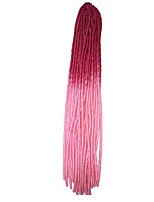 Havana Dreadlocks Extensões de cabelo 20 inch Kanikalon 20 roots costa 100g grama Tranças de cabelo