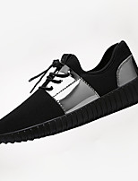 Women's Shoes Tulle Spring / Summer / Fall Comfort Flats Casual Flat Heel Others Black / Silver