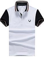 Zhuo wolf KD T-shirt Lapel cotton T1612