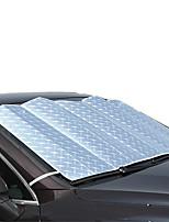 películas de láser parabrisas delantero sol de aislamiento anti-UV sombrilla del coche 130 * 60cm