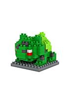 Pocket Little Monster Bulbasaur ABS Super Mini 120 Pieces Diamond Blocks