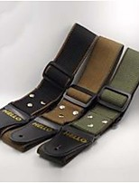 Canvas Leather Guitar Strap