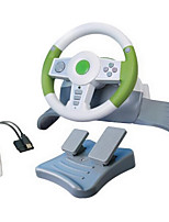 CMPICK Wired Shock Game Steering Wheel for PS3/PC
