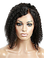 Human Hair Full Lace Wig Curly Natural Color Unprocessed Brazilian Human Hair Lace Wigs For Black Women