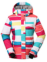 Gsousnow new colourful or big ski jackets/ female snow jackets/ outdoor windproof waterproof breathable ski suit