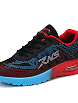 Men's Shoes Tulle Outdoor / Casual Sneakers Outdoor / Casual Walking Flat Heel Others / Lace-up Blue / Red / Orange